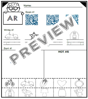 Alphabet Pages: LONG Vowel Combinations, R-Controlled Vowels and MORE!