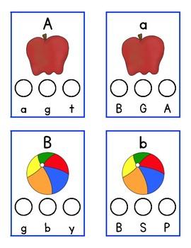Alphabet Pairs Cover Up
