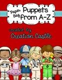 Alphabet Paper Bag Puppets