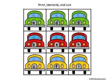 Alphabet Parking Lot