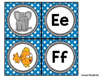 Alphabet Partners- A fun way to partner your students and review initial sounds!
