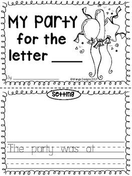 Beginning Sounds Alphabet Activities