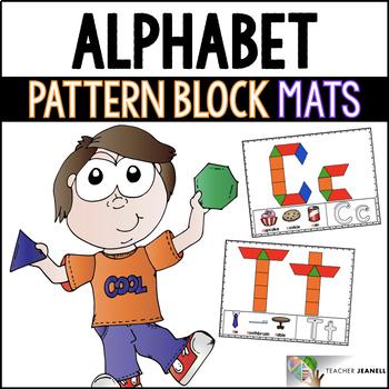 Alphabet Pattern Block Mats