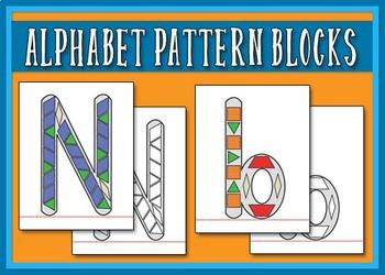 Alphabet Pattern Blocks