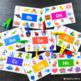 Alphabet Peg Cards