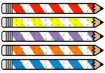 Alphabet Pencils