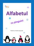 Alphabet Penguin Posters, Alfabetul cu Pinguini in limba Română