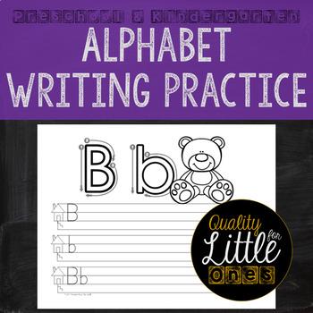 Alphabet Penmanship - Alphabet Writing Practice - Correct Letter Formation