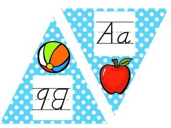Alphabet Pennant