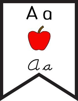 Alphabet Pennants