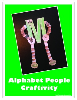 Alphabet People Craftivity