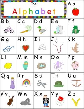 Alphabet Personal Poster Freebie