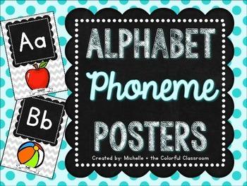 Alphabet {Phoneme} Posters