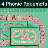 Alphabet Phonic Racemat Game (LEEP) - Easy ESL Games