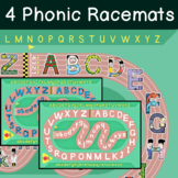 Alphabet Phonic Racemat Game (LEEP) - Easy ESL Games