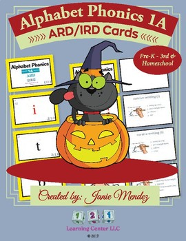 Alphabet Phonics 1A - ARD/IRD Cards