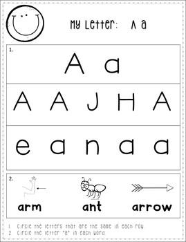 Alphabet (Phonics) A-Z