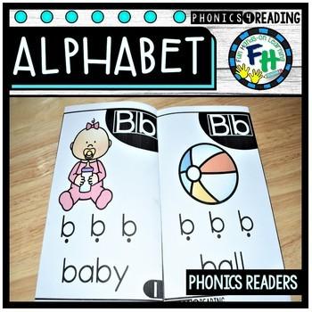 Alphabet Phonics Books {Easy Readers}