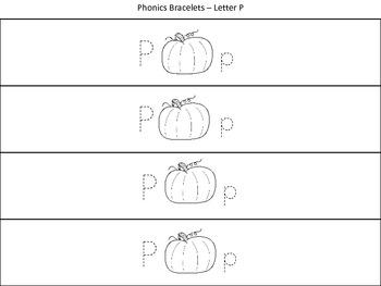 Alphabet Phonics Bracelets