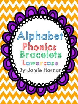 Alphabet Phonics Bracelets Lowercase