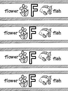 Alphabet Phonics Bracelets Uppercase and Lowercase