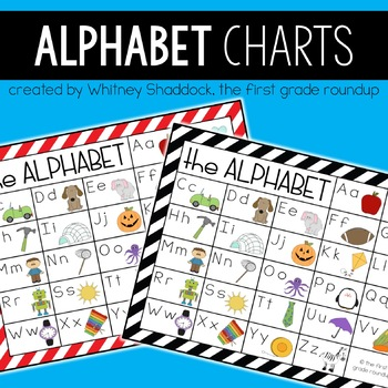 Alphabet Poster Phonics Charts