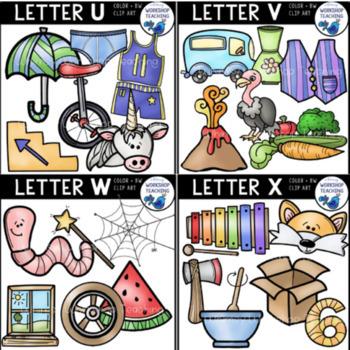 Alphabet Phonics Value BUNDLE (260 Graphics) Whimsy Workshop Teaching