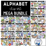 Alphabet Phonics Value BUNDLE (260 Graphics) Whimsy Worksh
