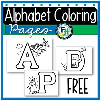 Alphabet Coloring Posters