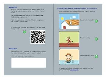 Alphabet / Phonics Interactive PDF Lesson