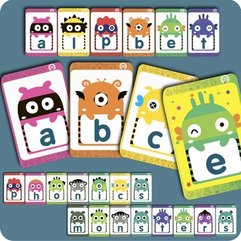 Alphabet Phonics Monsters