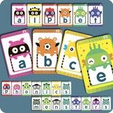 Alphabet Phonics Monsters