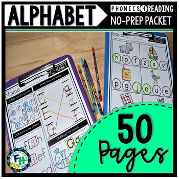 Alphabet Phonics No-Prep Packet
