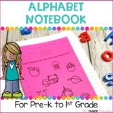 Alphabet Phonics Notebooks | Science of Reading Based