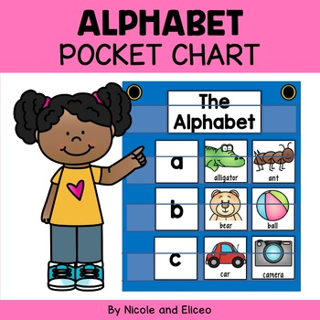 Phonics Pocket Chart - Alphabet Letters and Sounds