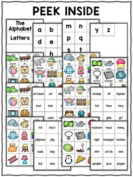 Alphabet Pocket Chart Center
