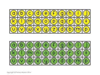 Alphabet & Phonics Puzzles - Short I Set