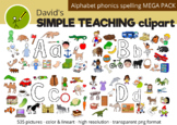 Alphabet Phonics Spelling MEGA PACK with free preview