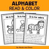 Alphabet Phonics Stories Coloring Sheets