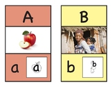 Alphabet Phonics Wall Cards (especially for English Learners)