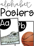 Alphabet Photo Posters (Bright, White and Simple)