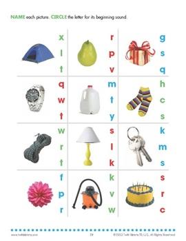 Alphabet Photo Workbook