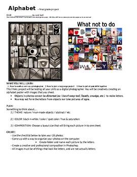 Alphabet Photography