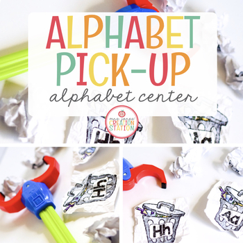 ALPHABET PICK-UP LITERACY CENTER