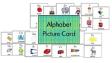 Alphabet - Picture Card and Bingo Game