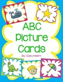 Alphabet Picture Cards & Activities - Beginning Sounds, AB