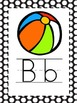 Alphabet Picture Cards - BlackPolka Dot