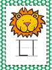Alphabet Picture Cards - Green Polka Dot
