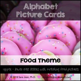 Alphabet Picture Cards • Food Theme