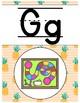 Classroom Alphabet - Tropical